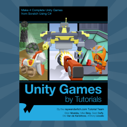 Unity Games by Tutorials – 17 Chapters Now Available!