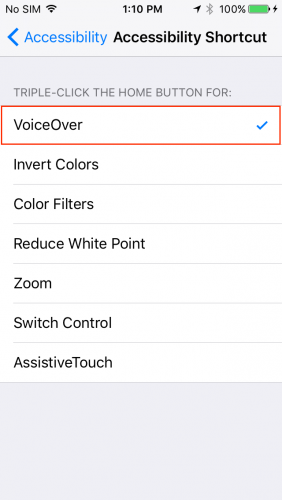iOS Accessibility Tutorial
