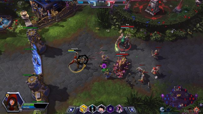 Heroes of the Storm, a popular game by Blizzard.