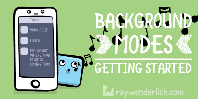 Background Modes Tutorial: Getting Started