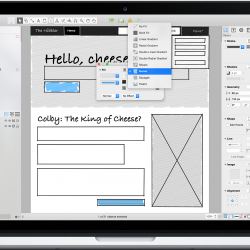 OmniGraffle, one of the many apps made by the Omni Group.