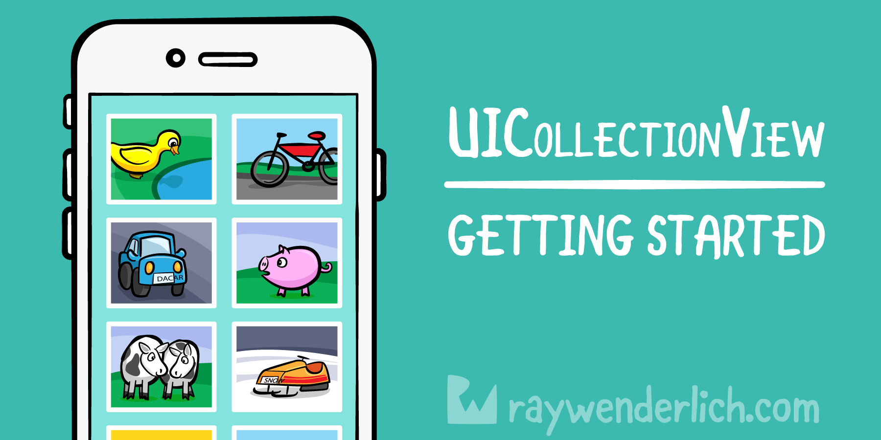 QnA VBage UICollectionView Tutorial: Getting Started [FREE]