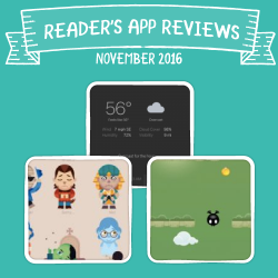 Readers' App Reviews – November 2016
