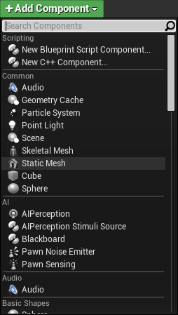 Unreal engine 4 tutorial for beginners getting started to display the banana select the static mesh component and then click the details tab click on the drop down located to the right of static mesh and malvernweather Choice Image