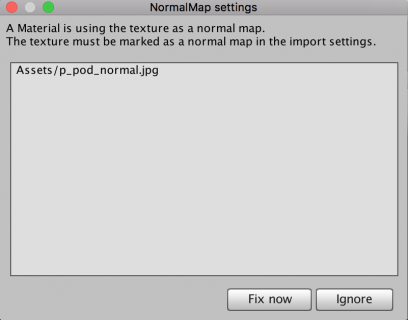 NormalMapSettings
