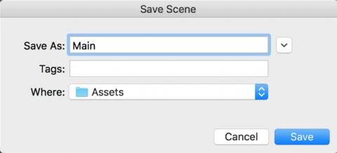 SaveScene