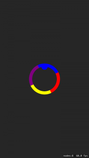 Matching colors pass through