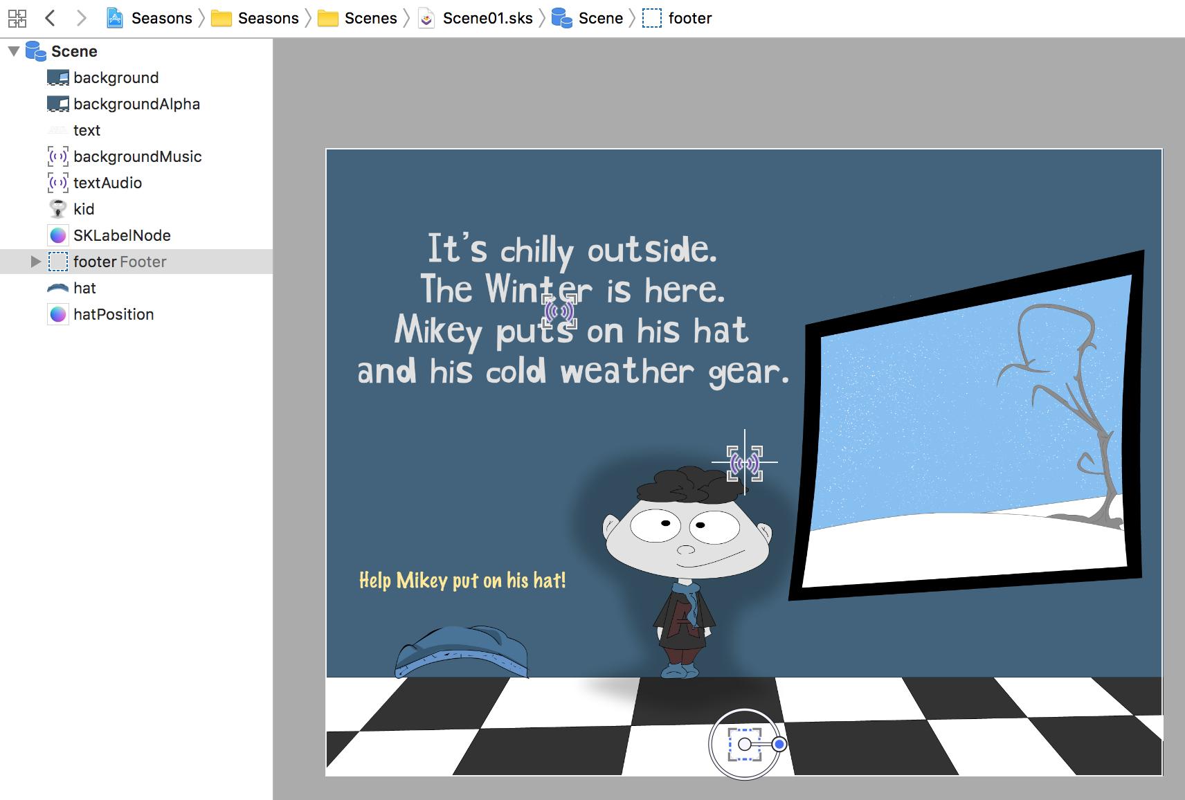SpriteKit Tutorial Create an Interactive Children s Book with
