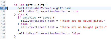Gift Breakpoint