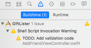 Shell Script Invocation Warning