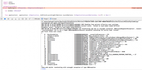 Stack Trace Goes Boom