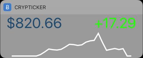 BTC Widget Almost