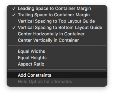 Effect View Constraints 1