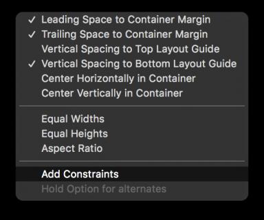 Effect View Constraints 1