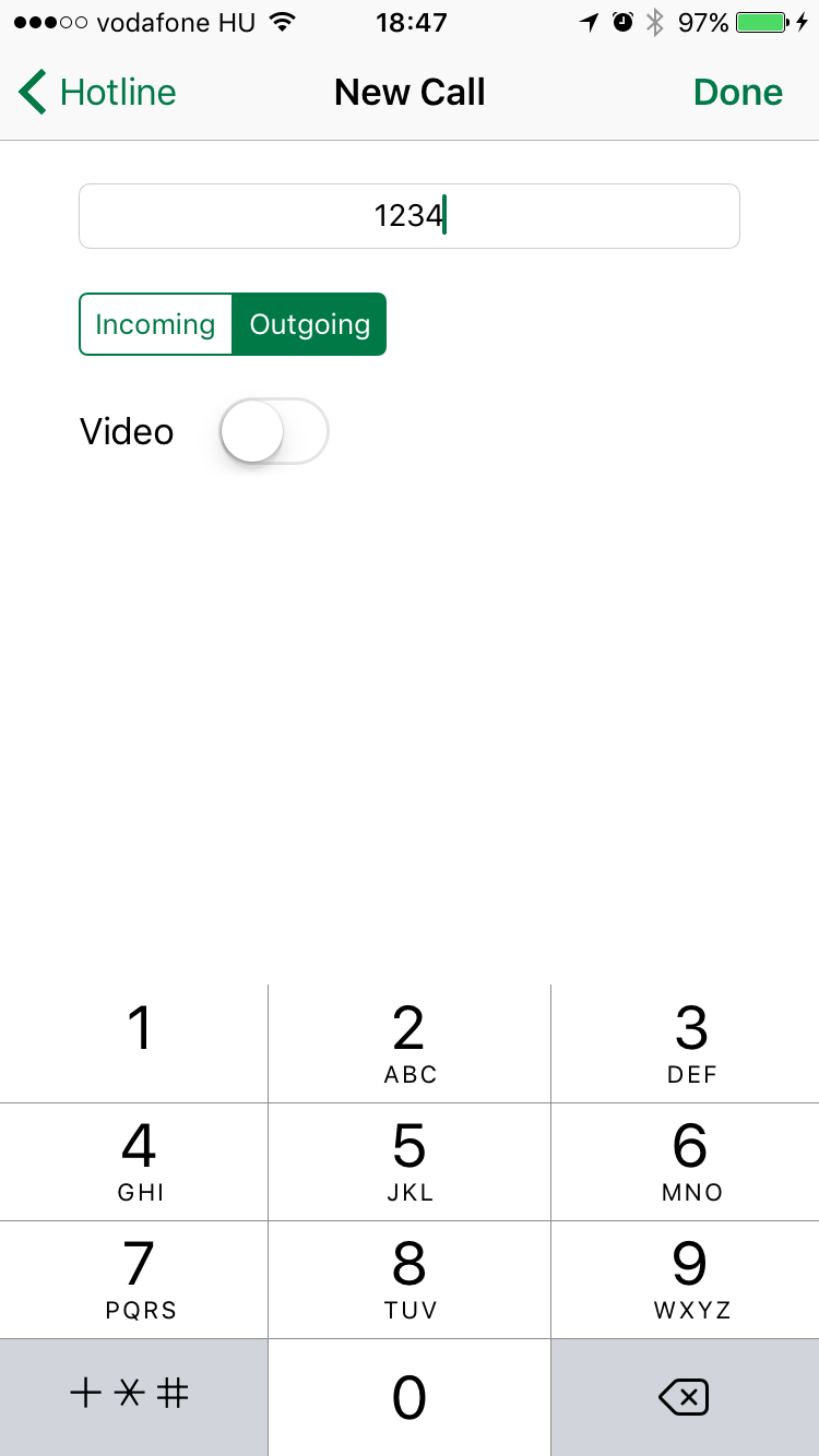 IPHONE - CallKit Tutorial for iOS 콜킷 사용