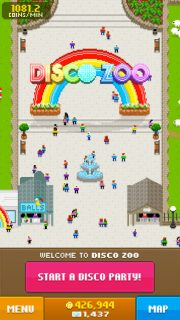Disco Zoo, the app created by Matt Rix