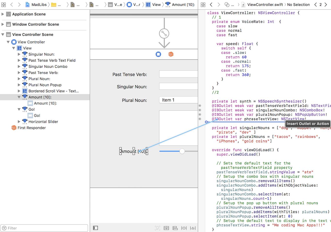 macOS Controls Tutorial: Part 2/2   raywenderlich com