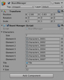 Final BoardManager settings