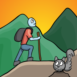 Procrastination-07-hiking