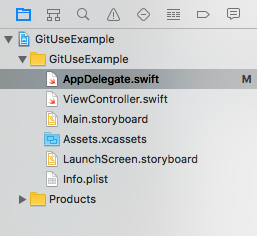 Modified AppDelegate.swift file