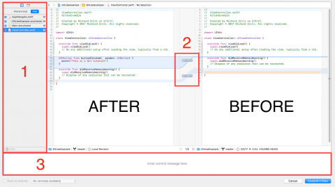 Annotated Commit Pane
