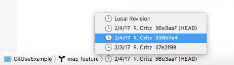 Previous revision list