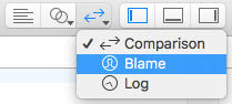 Select Blame View