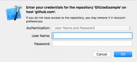 GitHub login