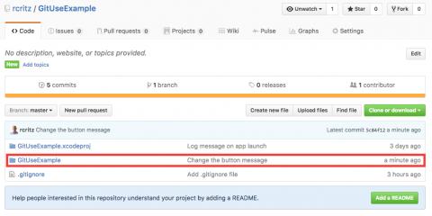 GitHub push confirmation