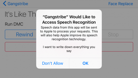 Speech Recognition Tutorial for iOS
