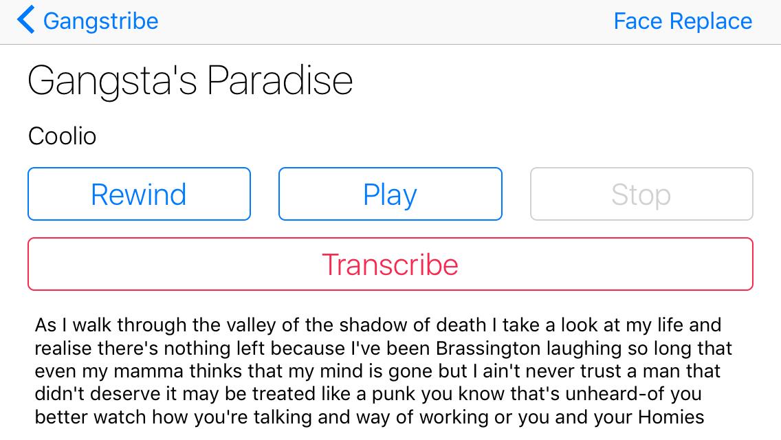 Speech Recognition Tutorial for iOS   raywenderlich com