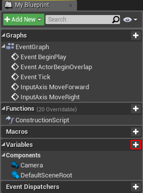 Unreal engine 4 blueprints tutorial with your new variable selected head over to the details tab rename the variable to maxspeed afterwards change the variable type to float malvernweather Image collections