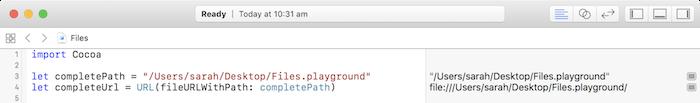 Create a URL
