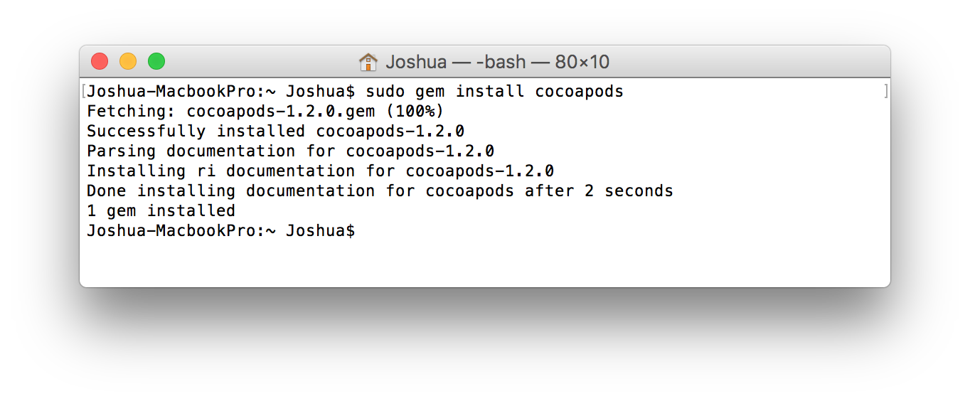 CocoaPods Tutorial for Swift: Getting Started