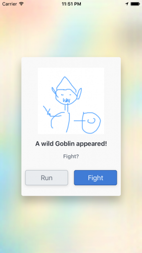 A Wild Goblin appeared!