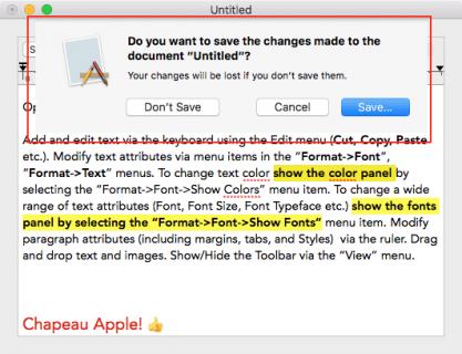 Sheet Modal Example
