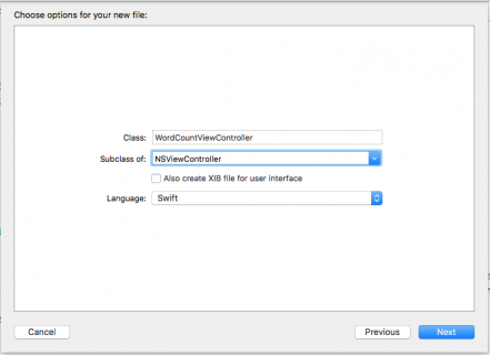 add view controller subclass