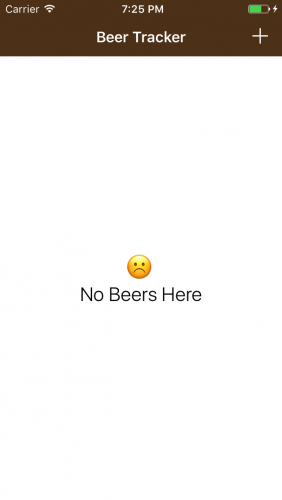 Beer Tracker iOS