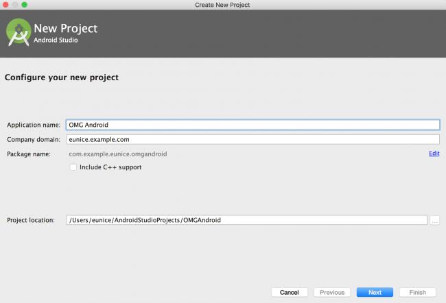 configure project