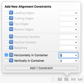 add constraints