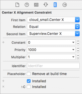 constraint details