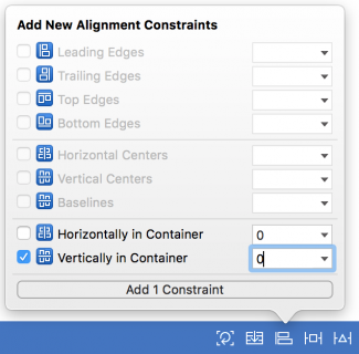 add constraints for size class