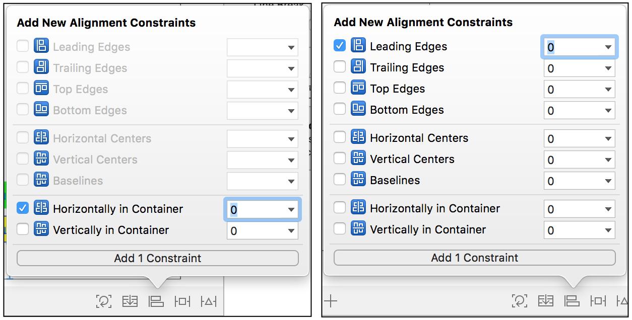 xcode constraints tutorial
