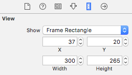 ImageView size settings