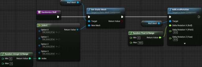 How to create a simple game in unreal engine 4 here is the final graph malvernweather Choice Image