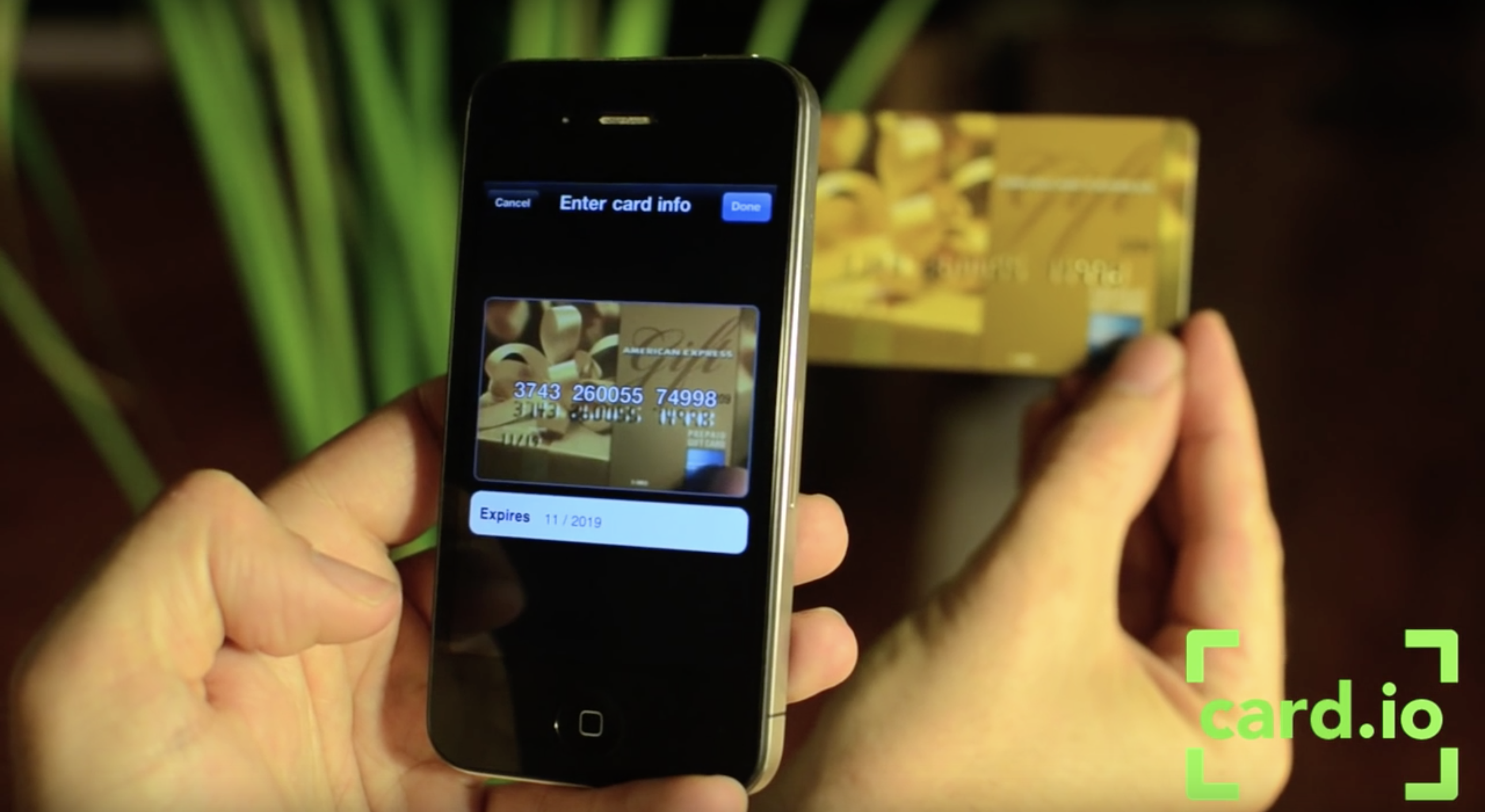 UX Design patterns for mobile apps_Card.io