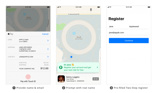 UX Design patterns for mobile apps_delayed registration