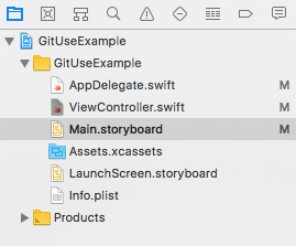 modified Project Navigator files