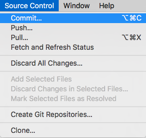 How To Use Git Source Control with Xcode 9 | raywenderlich com