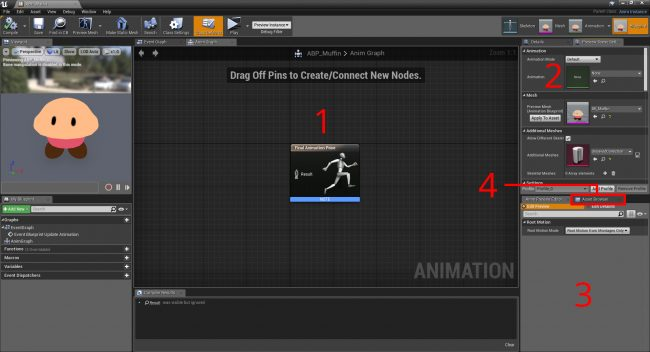 Unreal engine 4 animation tutorial the animation blueprint editor malvernweather Gallery